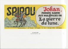 Extrait de Spirou et Fantasio -2- (Divers) - Les bandeaux-titres du journal Spirou
