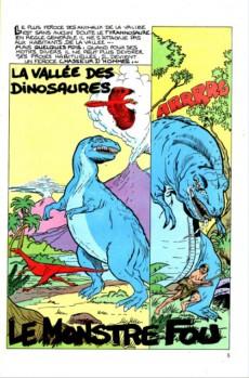 Extrait de Les héros de la télé -3- La vallée des dinosaures - le monstre fou