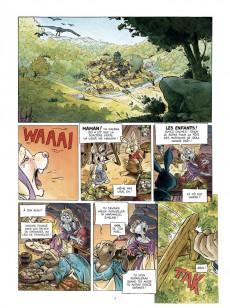 Extrait de L'Épée d'Ardenois - Tome INT