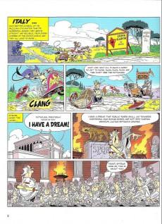 Extrait de Astérix (en anglais) -37- Asterix and the chariot race