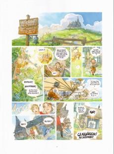 Extrait de Le château des étoiles -INT3TL- Les chevaliers de mars