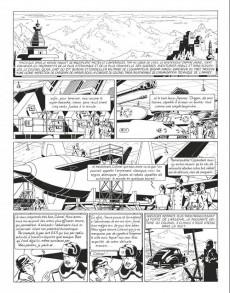 Extrait de Blake et Mortimer (Niffle N&B) -1INT- Tomes 1 à 6