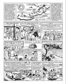 Extrait de Blake et Mortimer (Niffle N&B) -2INT- Tomes 6 à 12