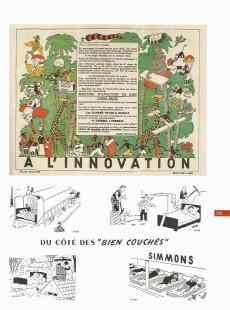 Extrait de Univers d'Hergé (Rombaldi) -5- Illustrations : livres, publicités, cartes postales, calendriers, Voir et Savoir etc...
