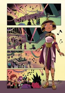 Extrait de Cléopâtre, Princesse de l'espace -2- Le voleur et l'épée