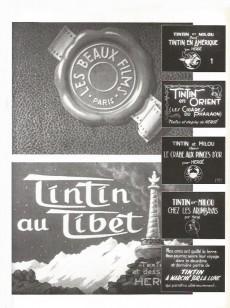 Extrait de Univers d'Hergé (Rombaldi) -7- Le mythe : Cinéma, courrier, objets, critiques et hommages