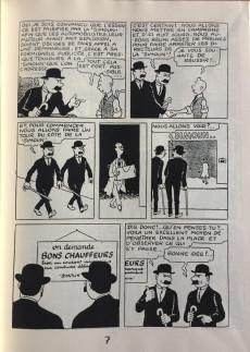 Extrait de Tintin - Pastiches, parodies & pirates - Tintin au pays de l'or noir