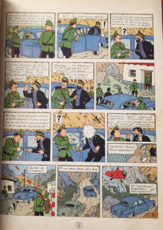 Extrait de Tintin - Pastiches, parodies & pirates - Objectif Marche sur la lune