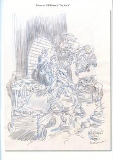 Extrait de (AUT) Bodart - Sketchbook - Various sketches et tributes