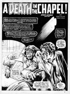 Extrait de Dracula Lives! (Marvel Comics - 1973) -6- Terror Lurks... in the Chapel of Blood