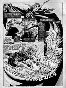 Extrait de Dracula Lives! (Marvel Comics - 1973) -9- The woman who collected Dracula
