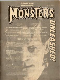Extrait de Monsters Unleashed (Marvel comics - 1973) -2- The monster of Frankenstein