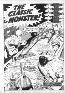 Extrait de Monsters Unleashed (Marvel comics - 1973) -4- A Werewolf stalks the night