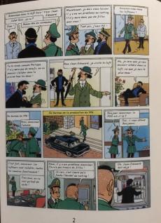 Extrait de Tintin - Pastiches, parodies & pirates - Tintin dans Loft Story
