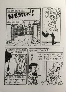 Extrait de Tintin - Pastiches, parodies & pirates - Tintin au Chili