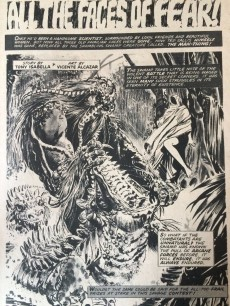 Extrait de Monsters Unleashed (Marvel comics - 1973) -5- The mark of the Man-Thing
