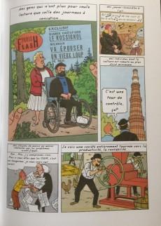 Extrait de Tintin - Pastiches, parodies & pirates - Les Intermittents