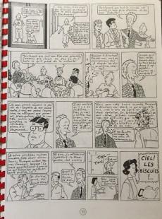 Extrait de Tintin - Pastiches, parodies & pirates -a- Les aventures de Tintin à l'E.N.A