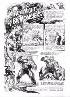 Extrait de Monsters Unleashed (Marvel comics - 1973) -10- Tigra the were-woman stalks again