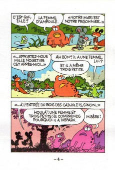 Extrait de Mini-récits et stripbooks Spirou -MR4153- Scopitone, mille noisettes
