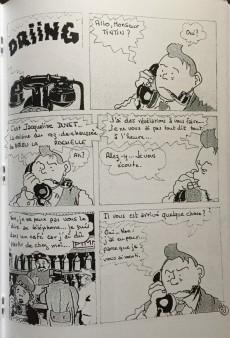 Extrait de Tintin - Pastiches, parodies & pirates - Embrouille à Moulinsart