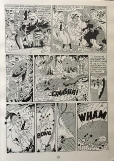 Extrait de Tintin - Pastiches, parodies & pirates -1995- Tintin contre Batman
