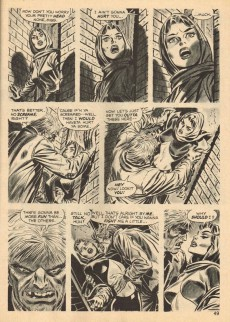 Extrait de Vampire Tales (Marvel comics - 1973) -2- The claws of Tryphon !