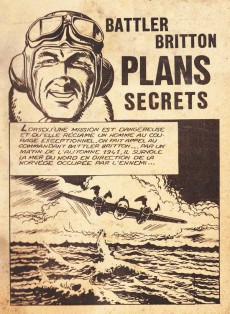 Extrait de Battler Britton -154- Plans secrets - vertiges - le nid des vipères