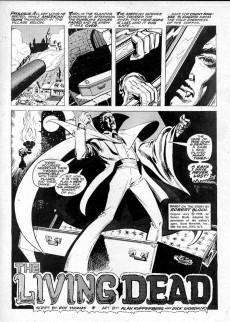 Extrait de Vampire Tales (Marvel comics - 1973) -5- The living dead