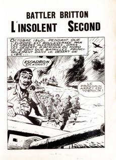 Extrait de Battler Britton -264- L'insolent second