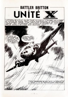 Extrait de Battler Britton (Imperia) -262- Unité X - Dernier vol