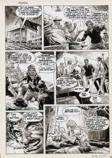 Extrait de Vampire Tales (Marvel comics - 1973) -10- The plague of blood