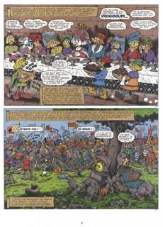 Extrait de Bec-en-fer (1re série) -6- Bec-en-fer chez les Bourguignons
