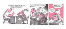 Extrait de Mini-récits et stripbooks Spirou -MR4151- Phil et Mignon, le vol du cochon maltais