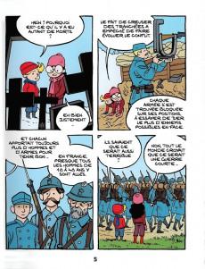 Extrait de Le fil de l'Histoire (raconté par Ariane & Nino) -HC- La guerre des tranchées (L'enfer des poilus)