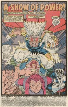 Extrait de New Mutants (The) (1983) -87- A show of power !
