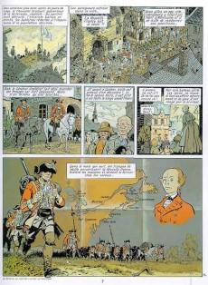 Extrait de Les pionniers du Nouveau Monde -4- La croix de Saint Louis