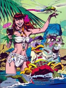 Extrait de Marvel illustrated (1991) -1- The swimsuit issue