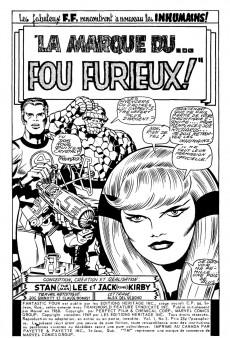 Extrait de Fantastic Four (Éditions Héritage) -3- La marque du... fou furieux !