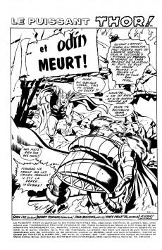 Extrait de Thor (Éditions Héritage) -8- Et Odin meurt !