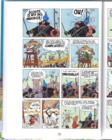 Extrait de Spirou et Fantasio -6h04- La corne de rhinocéros