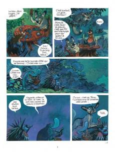 Extrait de Toto l'ornithorynque -8- Toto l'ornithorynque et le dragon bleu