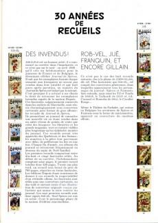 Extrait de (AUT) Franquin -28a- Toutes les couvertures des recueils du journal de SPIROU par Franquin