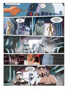 Extrait de Star Wars (Delcourt / Disney) -INT1- La Trilogie originale