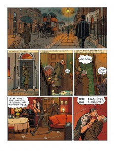 Extrait de Baker Street (Veys/Barral) -INT- All you need is Holmes