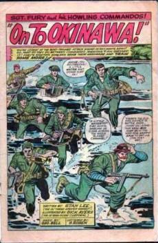 Extrait de Sgt. Fury and his Howling Commandos (Marvel - 1963) -10-