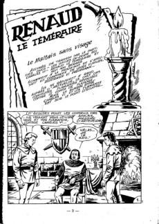 Extrait de Messire (Mon Journal) -20- Renaud - Le maltais sans visage