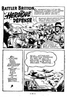 Extrait de Battler Britton (Imperia) -24'- L'héroïque défense