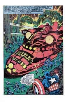 Extrait de Captain America (Marvel comics - 1968) -AN03- The thing from the black hole star