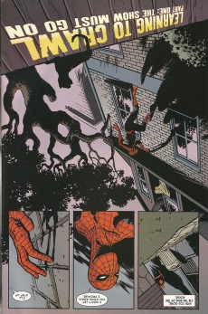 Extrait de Amazing Spider-Man (The) (2014) -1.1- Learning to crawl  : part one
